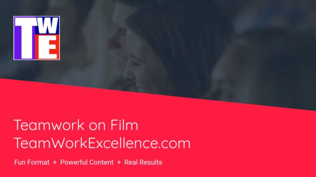 GET READY: New Teamwork On Film Events Coming!